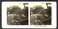 Japan (~1900´s) Temple In The Shiba Park IV - Tokyo / Tokio (NPG) - Stereoscoop