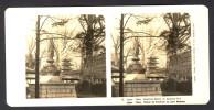 Japan (~1900´s) Kwannon Statue In The Asakusa Park - Tokyo / Tokio (NPG) - Stereoscoop