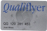 Frequent Flyer Card - Qualiflyer - Aviation Commerciale