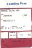Boarding Pass - Brussels-London H (BD0142) - London H-Brussels (BD0151) - 11 JUL - Instapkaart