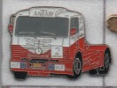 Transport Camion Mercédés Course , Pneu Continental , Essence Carburant ELF Antar - Transport