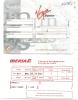 Boarding Pass - Vol Brussels-Madrid-Brussels - Virgin Express TV828/TV857 - 10-13DEC1997 - Instapkaart