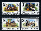 CAYMAN ISLANDS - 1982 SCOUTS 75TH ANNIVERSARY SET (4V) FINE MNH ** - Scouting