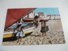 Costumi Bambini Barche Pesca  Nazarè Portogallo - Costumi