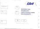 Boarding Pass - EBA - Brussels-Nuremberg - EBA1440 - 25-05-1995 - Instapkaart