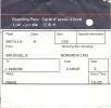 Boarding Pass Brussels-London-Brussels -BA7415/BA7416 - 24-26MAR93 - Instapkaart