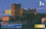 "España Spain Private Phonecard CASTILLOS CON HISTORIA "" GUADAMUR - TOLEDO"" Castle - España"