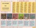 Calendrier Du Facteur 1991 ( Signes Du Zodiaque ) - Calendriers