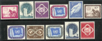 UNO 1951 MNH Stamp(s) 1st Issue 1-11 - New York – UN Headquarters