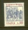 ITALIA 1974 MNH Stamp(s) Ludovico Ariosto 1462 - 1971-80: Mint/hinged