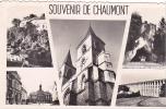 """20353 Chaumont """" Souvenir De Chaumont """" Cpsm Pf"""