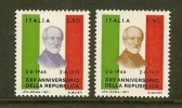 ITALIA 1971 MNH Stamp(s) Mazzini 1337-1338 - 6. 1946-.. Republic