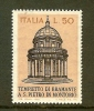 ITALIA 1971 MNH Stamp(s) Bramante Temple 1332 - 1971-80: Mint/hinged