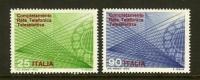 ITALIA 1970 MNH Stamp(s) Telephone 1323-1324 - 6. 1946-.. Republic