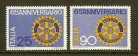 ITALIA 1970 MNH Stamp(s) Rotary Club 1321-1322 - Rotary, Lions Club