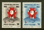 ITALIA 1963 MNH Stamp(s) Red Cross 1145-1146 - 6. 1946-.. Republic