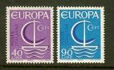 ITALIA 1966 MNH Stamp(s) Europe 1215-1216 - Europa-CEPT