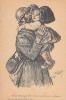 20369 Sois Tranquille, Méchants Coleurs Reviendront Plus ! Dessin Georges Redon - Guerre 14.18 Alsace Lorraine Guerre .