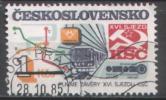 CSSR - Mi-Nr 2832 Gestempelt / Used (j127) - Eisenbahnen