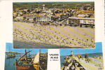 34 / VALRAS PLAGE / MULTIVUES / CPSM 1966 - France