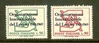 ITALIA 1969 MNH Stamp(s) 50 Years I.L.O. 1299-1300 - 6. 1946-.. Republic