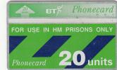 UK - BT For Use In HM Prisons Only(CUP005), CN : 229K, Mint - Ver. Königreich