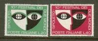 ITALIA 1967 MNH Stamp(s) Spoleto Festival 1235-1236 - 6. 1946-.. Republic
