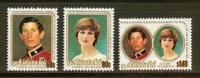 AITUTAKI 1981 MNH Stamp(s) Royal Silver Wedding (surcharge) 406-408 - Royalties, Royals