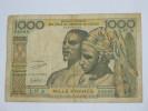 1000 Francs 1959-1965- COTE D´IVOIRE - Banque Centrale Des Etats De L´Afrique De L´Ouest  1959-1965 - Côte D'Ivoire