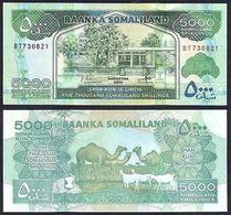 SOMALILAND 5000 SHILLINGS 2015 PICK NEW UNC. - Somalia