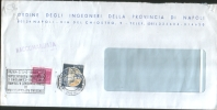 Italia - Italy 1985 Busta Raccomandata Con Recapito Autorizzato Da 270L + 30L Castelli Viaggiata - 6. 1946-.. Repubblica