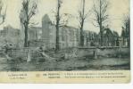 La Guerre 1914-1918   216.Pervyse - L'Eglise Et Le Cimetière... - Guerre 1914-18