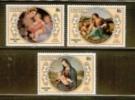 AITUTAKI 1983 MNH Stamp(s) Christmas 499-501 - Christmas