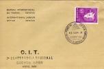 7 COFERENCIA REGIONAL OIT   1961  SOBRE 1ER DIA DE EMISION OHL - Kilowaar (max. 999 Zegels)