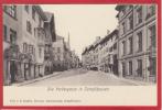 SCHAFFHAUSEN VORDERGASSE, LICHTDRUCK 1897 / 1905 - SH Schaffhouse