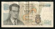 - Billet De 20 Francs - Belgique -  Création Du 15 Juin 1964 - - [ 2] 1831-... : Belgian Kingdom