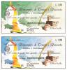 2 MINIASSEGNO  CASSA DI RISPARMIO DI TRENTO E ROVERETO - Banconote