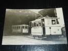 PHOTO: TOULON TRAMWAYS DE TOULON MOTRICE ANCIENNE VESTIBULEE AU DEPOT DE BRUNET - 83 VAR - Toulon