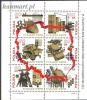 Poland 1972 Mi Block 50 MNH - Factories, Ships, Maps, Architecture, Politics - Automobili