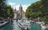 Ph-CPSM Pays Bas Amsterdam (Noord Holland) O.Z. Voorburgwal - Amsterdam