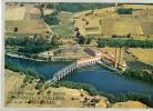 Image : Barrage Sur La Basse Dordogne à Tuillière, En Aval De Bergerac, N° 13 (5,5 Cm Sur 7,5 Cm) Usine, Cheminées - Vieux Papiers
