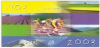 France 2003 Souvenir Philatélique Tour De France Siehe Alle 4 Scans. FDC - Documentos Del Correo