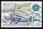 FR 2046 Avion Simoun Aviation Postale 1979 - France