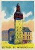 Chromo Magdeleine, Biscottes, Toasts : Beffroi De Moulins, N° 21 (4,5 Cm Sur 6,7 Cm) - Chromos