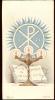 Devotie - Communie Christiane De Laere Gent St Jan Baptist 1950 - Santini