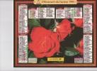Calendrier Du Facteur 1994 ( Fleurs - Roses ) - Calendriers