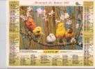 Calendrier Du Facteur 1997 ( Oiseaux Canaris ) - Calendriers