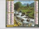 Calendrier Du Facteur 1998 ( Cascade Puy De Dome ) - Calendriers