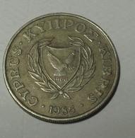 1985 - Chypre - Cyprus - 10 CENTS, KM 56.2 - Chypre