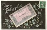PORTE BONHEUR - BANQUE DU BONHEUR - Représentation De Billet De Banque (Modèle Exclusif Fleurmont) - Monnaies (représentations)